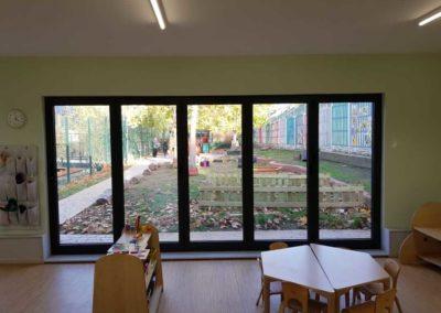 Nursery refurbishment by Davey Stone Associates