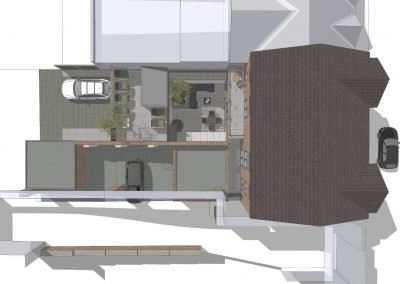 Detailed designs for luxury flats by Davey Stone Associates