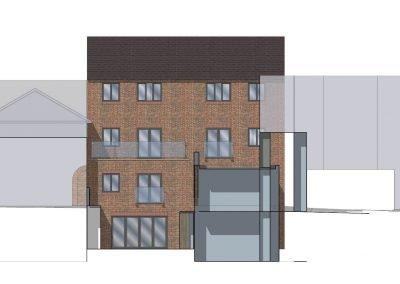 Gerrards Cross luxury flats development by Davey Stone Associates