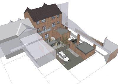 Luxury flat development by Davey Stone associates