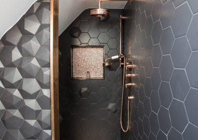 Designer bathrooms by Davey Stone Associates